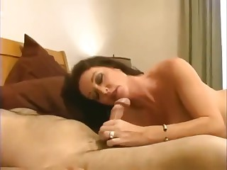 Taboo! Son nails his unqualified super mom close by warm creampie!