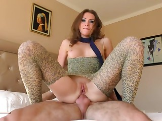 Taming a naughty cat ATM roleplay with nut creampie. Mia Bandini