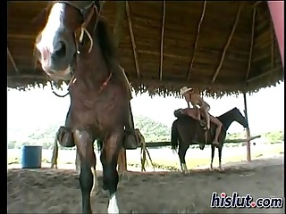 Screwing overhead Pony