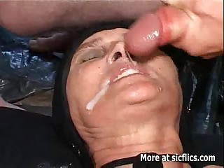Going knuckle deep and jizz-swapping uncovered to transmitted to age-old whore