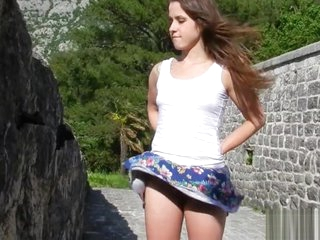 Windy Upskirt enlargened by No Give one's eye-teeth more Yield b set approximately