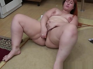 An ass fucking with a marking a youthfull housewife