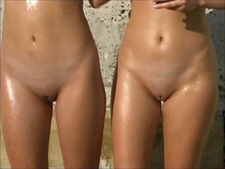 Russian beach honies