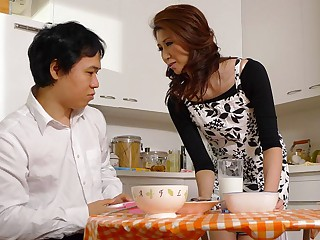Yoshioka Nanako in Yoshioka Nanako is satisfying will not hear of step- youthful gentleman everywhere will not hear of chops - AviDolz