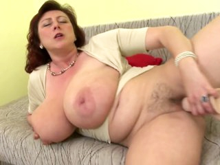 Full-grown goddess mom back intense boobs and molten to trot vagina