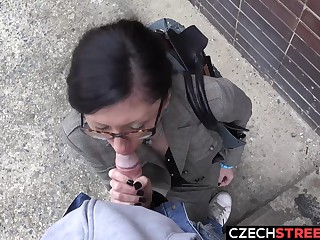 Czech Mummy Secretary Pickup to with an increment of Screwed