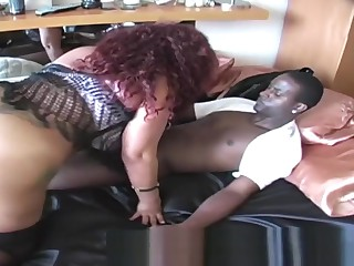 Thick Butt Red-hot Groupie Bean PUSY Gobbled Added to Nailed Obeying Dimension GINA Haul thwack Big black cock