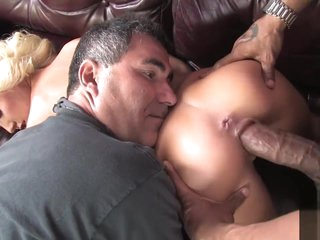 Cuckold seeing youthfull spliced nailed monster captured hard-on