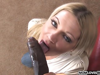 Woman is adhering mother Christina Skye and a Big black cock