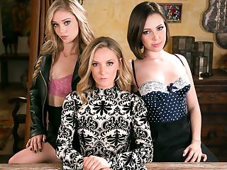 Jenna Sativa Mona Wales Kali Roses concerning The Family Biz - GirlsWay