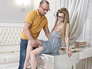 Sonya Delicious Yan in Nerdy Lovemaking Wish - DirtyFlix