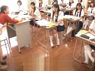 Asian infancy students screwed down the classroom Part.5 - [Earn Unorthodox Bitcoin on CRYPTO-PORN.FR]