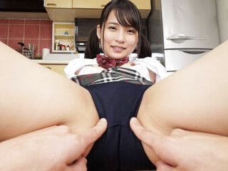 Aoi Kururigi My Breast-feed with a Fine Butt Came Delves Wearing Bloomers Part 1 - SexLikeReal