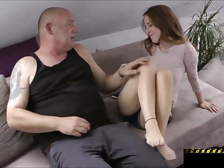 Scorching Teenage Pounds an Older Dude!