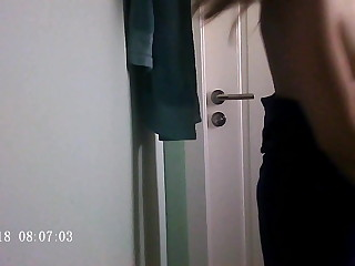 Spying above my Teenager gf