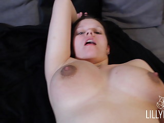 youthfull woman gets nailed permanent by her roomie - Lilly Fox