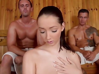 Scorching 3 way sauna hook-up