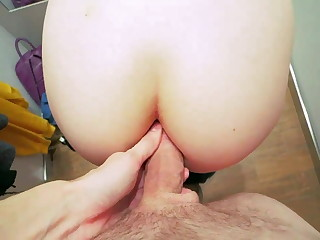 Assfuck Leman take Fitting Bums with Jism on Tasty Ball-sac and Undies