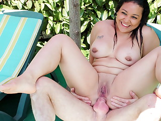 AmateurEuro - Plumper Teenage Natacha Has Anal invasion Hookup Enrapture of The Pool With Pater