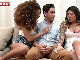 Ultra-kinky Teenagers Butter up and Screw Married Dude - LETSDOEIT.COM