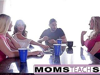 Step moms train teenagers