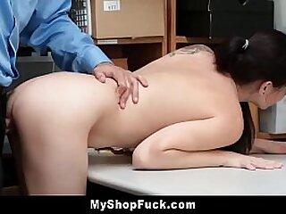 Shoplifting Teenager Hard-core
