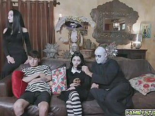 The Addams Family's out of the public eye hump
