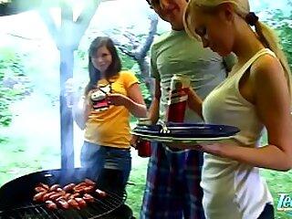 4th Of July BBQ Winebibber Teenage Hottest Public confined company Fucky-fucky Screw Festival - WWW.FAPLIX.COM