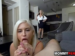 Matriarch and daughter share 4 knick-knack brat - unnoticed hookup