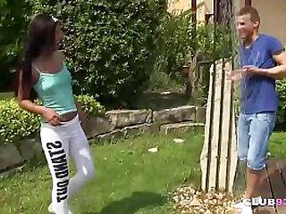 Dutch teenager humped