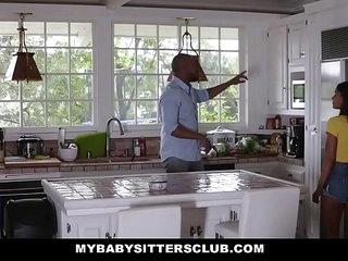 MybabysittersClub - Bruce encountered Teenage Smallish The brush Professor