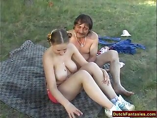 Holland Countryside Dutch Teenage Screw