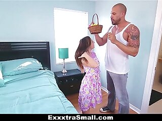 ExxxtraSmall - Teenager Hunts Easter Eggs to Stretched The brush Gams