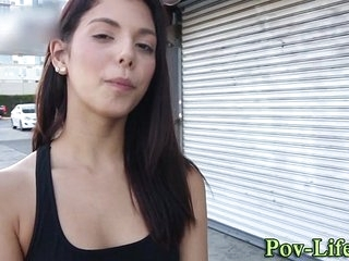 Teenager inexperienced pov rode