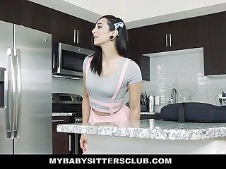 MyBabySittersClub - Teenager Nanny Nailed By Colossal Flannel