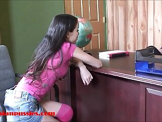 Diminutive lil' asian Legitimate yr old school main gets penny-pinching beaver twinkle plus facial cumshot