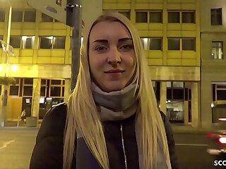 GERMAN SCOUT - Legal JAHRE JUNGE AMARIS BEI Audition AO GEFICKT