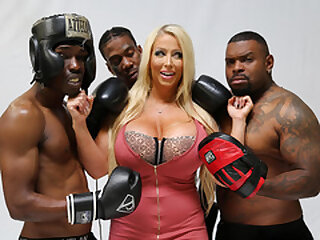 Alura Jenson Wants Gang-bang With Big black cock