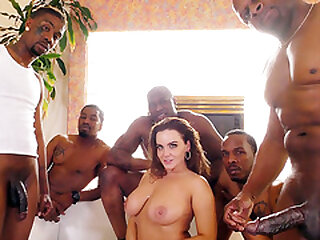 Assfuck Whore Natasha Lovely Takes Big black cock Double penetration