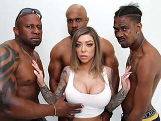 Karma Rx Broads Ass fucking Gang-bang