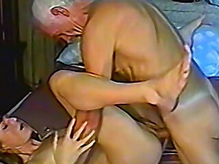 Grandpa gets himself some new youthfull cunt to pound