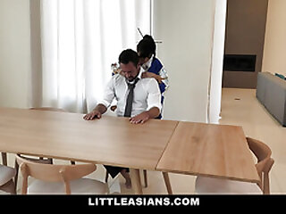 LittleAsians - Puny Asian Vagina Blasts For A Fat Shaft Muscle Guy