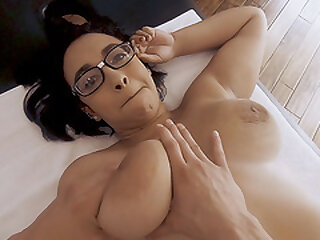 Fat Sweetie Emori Pleezer Receiving a Rubdown and a Fat Cock