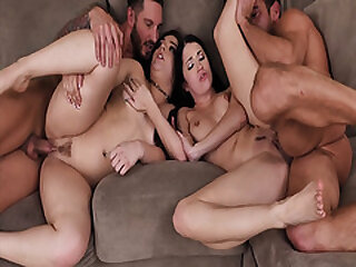 Teenagers Alex Coal and Kimber Forest gives their dads some medicine