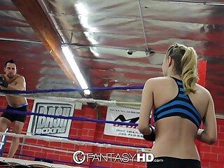 HD FantasyHD - Natalia Starr wrestles her way into nail session