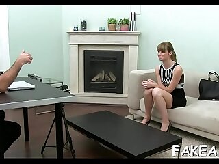 Audition bed gonzo porno