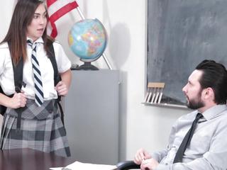InnocentHigh menacingmenacing Hawt SchoolGirl Copulates Her WAY Out Of Grief