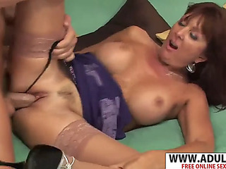 Pleasant latest recent mother desi foxx gives titjob fantastic her pluckiest