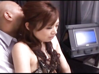 Keito Miyazawa deepthroats cumbot and gets jism in hook-up
