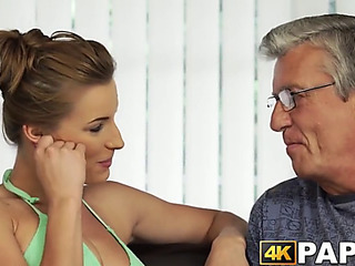 Youthfull angel cheats tweak with older manhood hitting